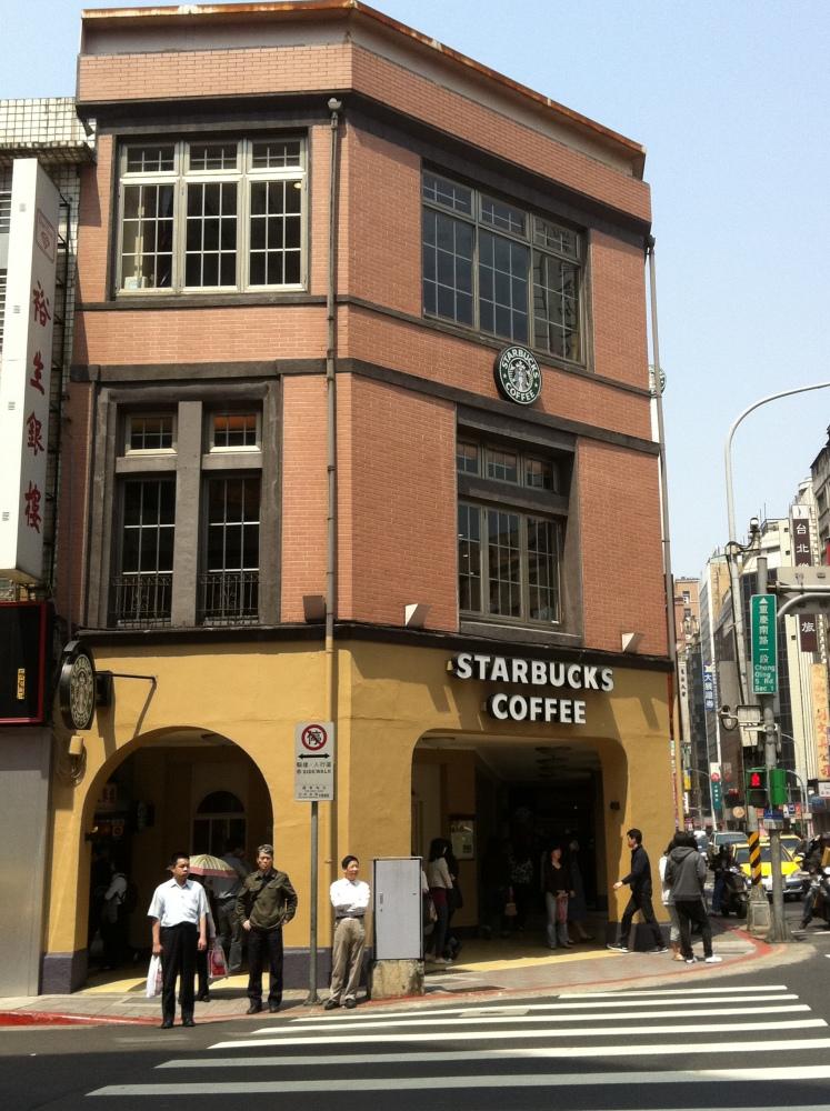星巴克重慶門市 ─ 巴洛克式的藝文空間  2012/03/22 (1/6)