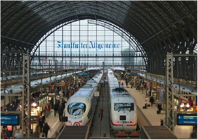 frankfurt central station 1