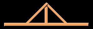 King_post_truss_vector.svg