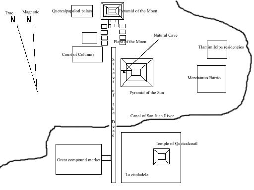 Teotihuacancityplan