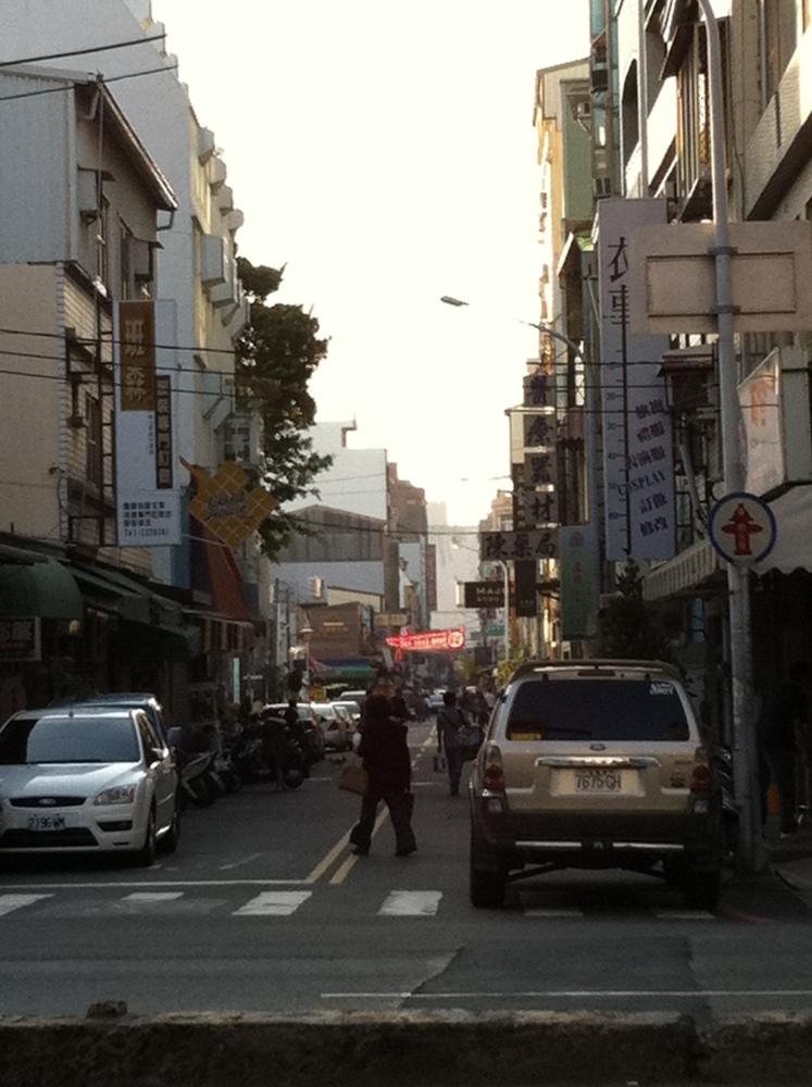 台南遊走:正興一條街  2014/01/24 (1/6)