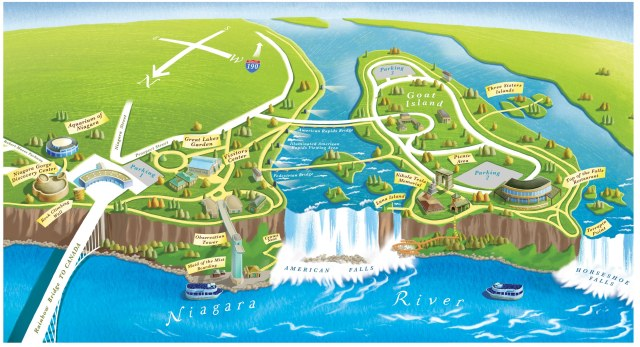 NiagaraNiagaraFallsStateParkMap